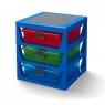 LEGO, regał z szufladami - Niebieski (40950002)