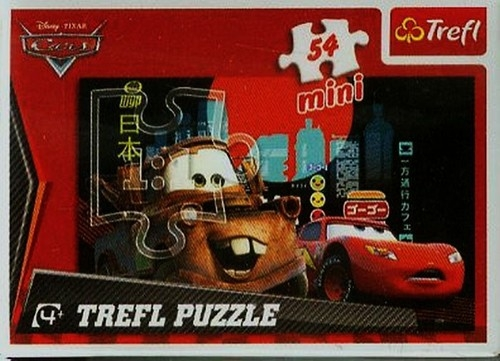 Puzzle mini 54 Auta (19362)