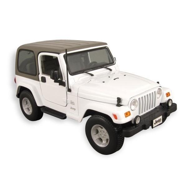 MAISTO Jeep Wrangler Sahara (white)