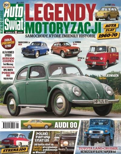 Auto Świat. Katalog Classic 1/2020 praca zbiorowa