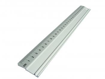 Linijka aluminiowa 40 cm  S2 antypoślizgowa (30362)