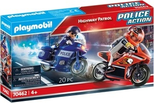 Playmobil Police Action: Patrol autostradowy (70462)