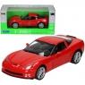 WELLY Chevrolet Corvette Z06, czerwony (WE22504)