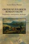 Owidiusz polskich romantyków Inspiracje, nawiązania, analogie Klausa-Wartacz Joanna