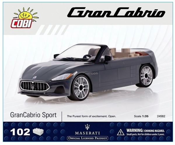 Cobi: Maserati GranCabrio Sport (24562)