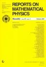 Reports on Mathematical Physics 79/1 2017