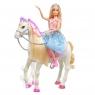 Barbie: Przygody Księżniczek - Koń z światłem i dźwiękiem (GML79)