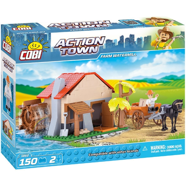 COBI Action Town Farm watermill 150 kl (1862)