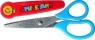 Nożyczki szkolne z zatyczką blis  13cm