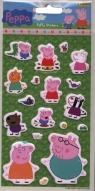 Naklejki Świnka Peppa Puffy Stickers