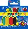 Plastelina Flamiongo 6 kolroów
