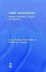 Public Administration Patrick von Maravic, Tero Erkkila, Guy Peters