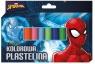 Plastelina 12 kolorów Spider Man 607362