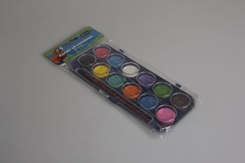 Farbki akwarelowe 12 kolorów