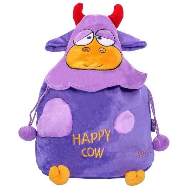 Happy Cow plecak fiolet