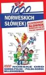 1000 norweskich słówek Ilustrowany słownik norwesko-polski polsko-norweski Pająk Elwira, Lichorobiec Stepan, Pilch Małgorzata