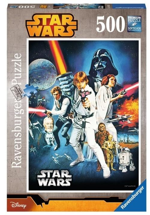 Puzzle Star Wars Nowa nadzieja 500 elementów (146628)