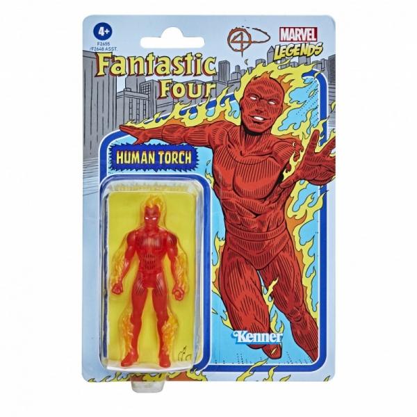 MVL Fan Legends Figurki Retro Human Torch (F2648/F2655)