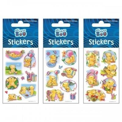 Naklejki Sticker BOO silver - Misie #2 (382534)