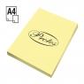 Papier kolorowy Protos A4 - żółty jasny 160 g