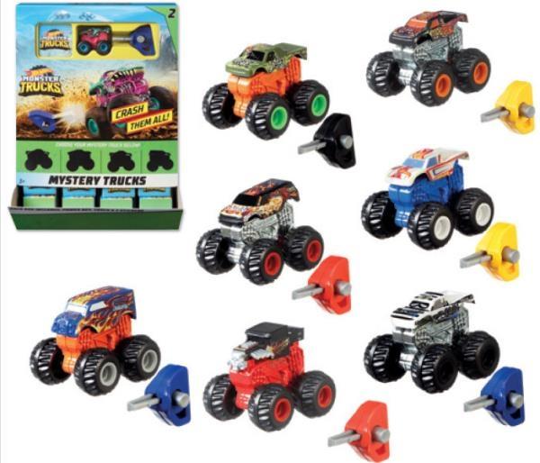 Hot Wheels Monster Trucks: Pojazdy-niespodzianki (GBP72)