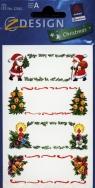 Naklejki bożonarodzeniowe Z Design Christmas Dedykacje