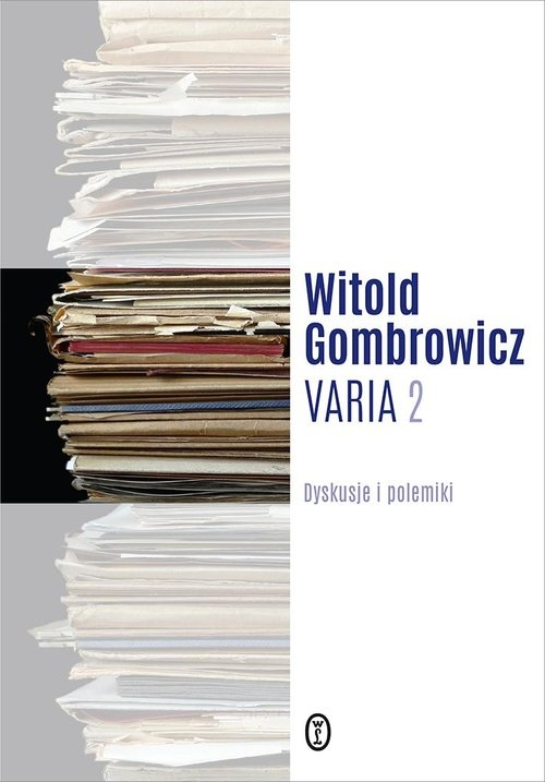 Varia t. 2 Gombrowicz Witold