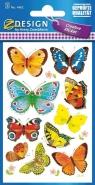 Naklejki kreatywne - motylki (4462)