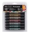 Zestaw pisaków Promarker Winsor & Newton - Manga Set 2, 12 kolorów (0290052)