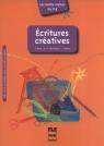 Ecritures creatives
