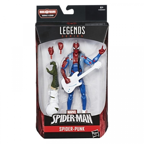 Figurka Spiderman Legends Spider Punk (A6655/E1298)