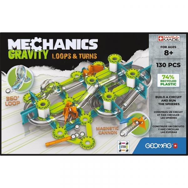 Klocki magnetyczne Mechanics Gravity 130 elementów (G763)