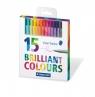 Cienkopisy Triplus Brilliant 15 kolorów