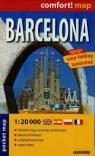 Barcelona- city street 1:20 000 (laminat, MIDI) .