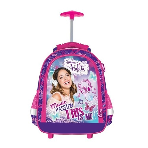 Plecak na kółkach Violetta model E1