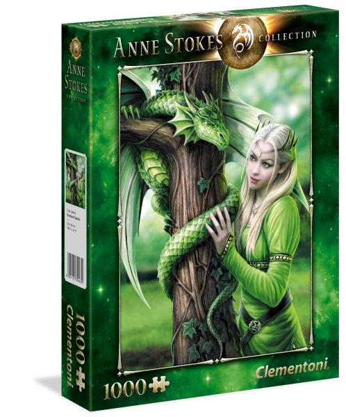 Puzzle 1000: Anne Stokes Collection - Kindred Spirits (39463)