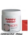 Farba akrylowa 250ml czerwony (7370 0250-2)