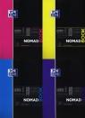 Kołonotatnik Oxford Nomadbook A4 80 kartek kratkamix kolorów