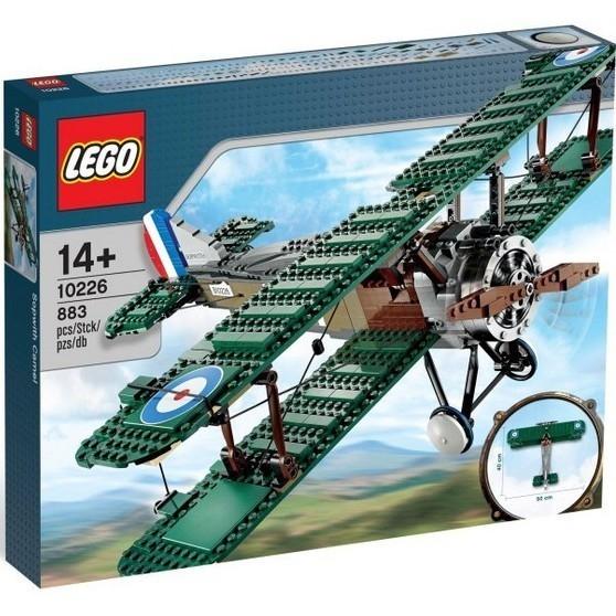LEGO Samolot Sopwith Camel