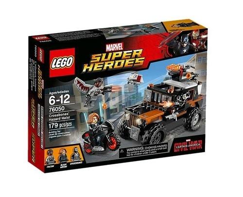 Lego Super Heroes Pościg za Crossbonesem (76050)