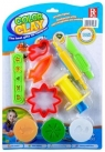 Masa plastyczna i akcesoria 3 kolory