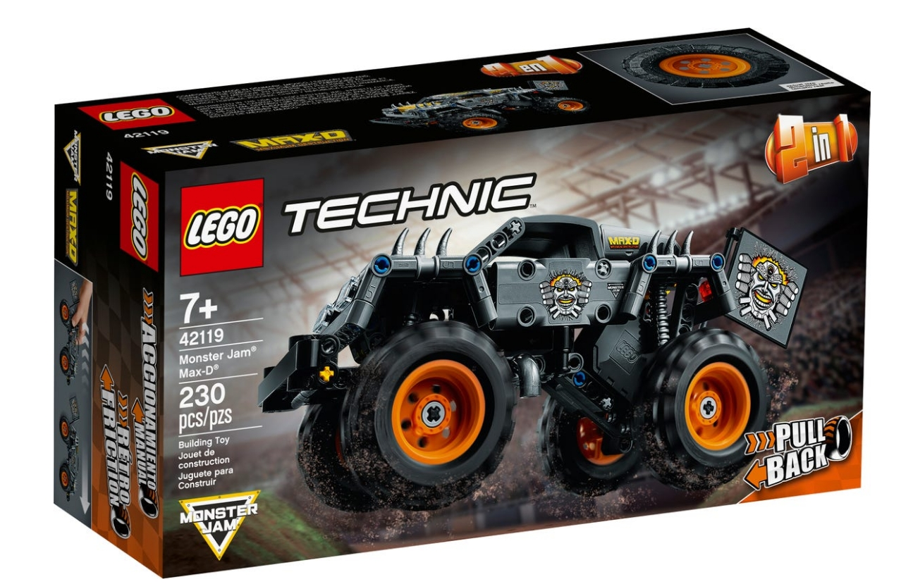 Lego Technic: Monster Jam® Max-D® (42119)