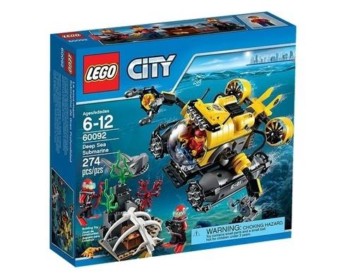 Lego City Łódź głębinowa (60092)