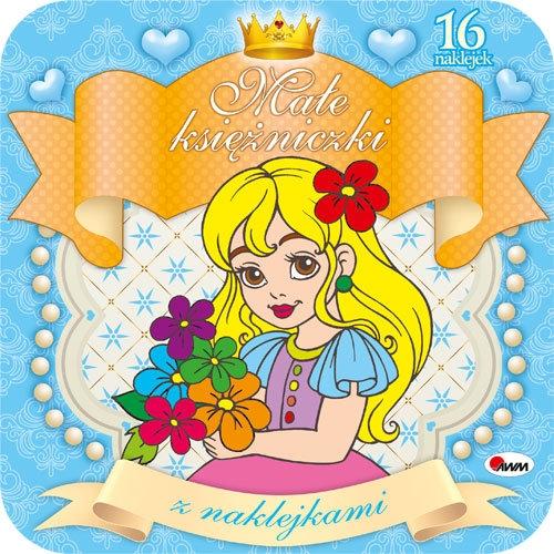 Małe księżniczki z naklejkami 2 Budek Mariola