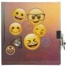 Pamiętnik metalizowany z kłódką Emoji 12 (PMKEM12)