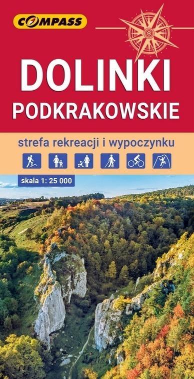 Mapa turystyczna - Dolinki Podkrakowskie 1:25 000 praca zbiorowa