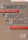 Communication progressive du francais des affaires książka