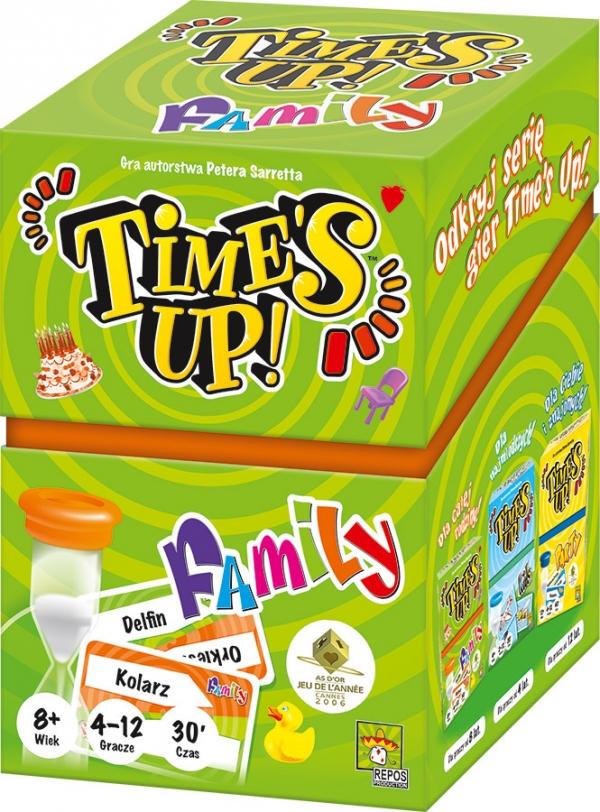 Time's Up! - Family (nowa edycja) Peter Sarrett