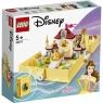 Lego Disney Princess: Książka z przygodami Belli (43177) Wiek: 5+