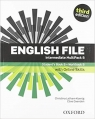 English File Intermediate Student's Book/Workbook MultiPack B with Oxford Online praca zbiorowa